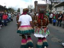 Ημέρα Αγίου Πάτρικ σε φελλός-Carigaline στις 17 Μαρτίου 2012 στοκ φωτογραφίες