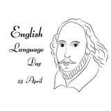 Ημέρα αγγλικής γλώσσας Στοκ φωτογραφίες με δικαίωμα ελεύθερης χρήσης