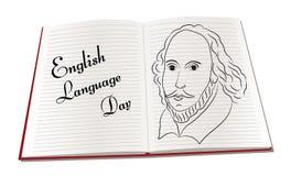 Ημέρα αγγλικής γλώσσας Στοκ Εικόνες