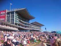 Ημέρα αγώνα Racecourse Knavesmire Υόρκη Αγγλία της Υόρκης στοκ εικόνα με δικαίωμα ελεύθερης χρήσης
