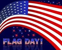 Ημέρα αμερικανικών σημαιών. Στοκ φωτογραφία με δικαίωμα ελεύθερης χρήσης