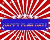 Ημέρα αμερικανικών σημαιών. Στοκ Εικόνα