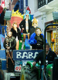 Ημέρα ανθρώπων επιτέλους Sitges καρναβάλι Ενταφιασμός Carnestoltes Στοκ Εικόνα