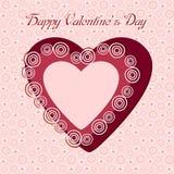 Ημέρα βαλεντίνων καρδιών Στοκ Φωτογραφίες