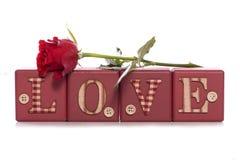 Ημέρα βαλεντίνων αγάπης Στοκ Εικόνα