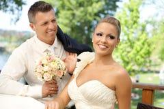 Ημέρα γάμου Στοκ φωτογραφία με δικαίωμα ελεύθερης χρήσης