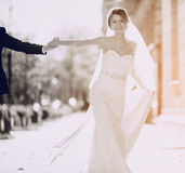 Ημέρα γαμήλιου καλοκαιριού Στοκ φωτογραφίες με δικαίωμα ελεύθερης χρήσης