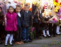 Ημέρα γνώσης στη Ρωσία Στοκ Εικόνες