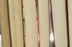 Ημέρα γνώσης Στοίβα της ανασκόπησης βιβλίων Υπόβαθρο εκπαίδευσης Στοκ εικόνα με δικαίωμα ελεύθερης χρήσης
