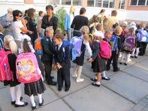 Ημέρα γνώσης, την 1η Σεπτεμβρίου, Κίεβο, Ουκρανία Στοκ Εικόνες
