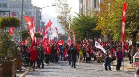 Ημέρα Δημοκρατίας των εορτασμών της Τουρκίας Στοκ εικόνες με δικαίωμα ελεύθερης χρήσης