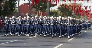 Ημέρα Δημοκρατίας των εορτασμών της Τουρκίας Στοκ Φωτογραφία
