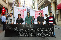 Ημέρα Δημοκρατίας των εορτασμών της Τουρκίας Στοκ εικόνα με δικαίωμα ελεύθερης χρήσης