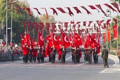 Ημέρα Δημοκρατίας των εορτασμών της Τουρκίας Στοκ Εικόνες