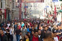 Ημέρα Δημοκρατίας των εορτασμών της Τουρκίας Στοκ Εικόνα