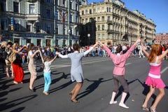 ημέρα διακοπές Πετρούπολ&et Στοκ Εικόνα