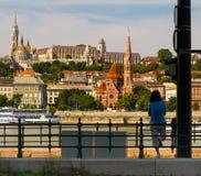 Ημέρα εορτασμού ST Stephen στη Βουδαπέστη Στοκ Εικόνες