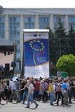ημέρα Ευρώπη Στοκ εικόνες με δικαίωμα ελεύθερης χρήσης