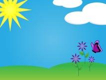 ημέρα ηλιόλουστη στοκ εικόνες