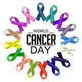 Ημέρα καρκίνου Στοκ φωτογραφία με δικαίωμα ελεύθερης χρήσης