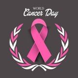 Ημέρα καρκίνου Στοκ φωτογραφίες με δικαίωμα ελεύθερης χρήσης