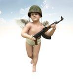 Ημέρα κατάρτισης Cupid, τρισδιάστατη απεικόνιση Στοκ Εικόνα