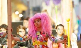 Ημέρα κοριτσιών επιτέλους Sitges καρναβάλι Στοκ Εικόνες