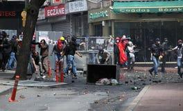 Ημέρα Μαΐου στη Ιστανμπούλ, Τουρκία. Στοκ Εικόνα