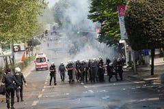 Ημέρα Μαΐου στη Ιστανμπούλ Στοκ φωτογραφίες με δικαίωμα ελεύθερης χρήσης