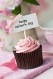 Ημέρα μητέρας cupcake στοκ εικόνες με δικαίωμα ελεύθερης χρήσης
