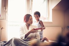 Ημέρα μητέρων ημέρα ευτυχής στοκ φωτογραφία