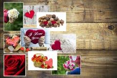 Ημέρα μητέρων ` s - λουλούδια και καρδιές Στοκ φωτογραφία με δικαίωμα ελεύθερης χρήσης