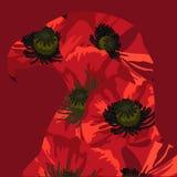 Ημέρα μνήμης στις Ηνωμένες Πολιτείες Διανυσματικό σχεδιάγραμμα για τις ευχετήριες κάρτες, εμβλήματα, αφίσες ελεύθερη απεικόνιση δικαιώματος