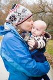 Ημέρα μωρών μαμών Στοκ φωτογραφία με δικαίωμα ελεύθερης χρήσης