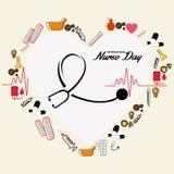 Ημέρα νοσοκόμων Στοκ φωτογραφία με δικαίωμα ελεύθερης χρήσης