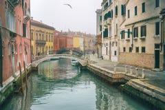 ημέρα ομιχλώδης Βενετία Στοκ Εικόνα