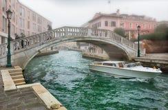ημέρα ομιχλώδης Βενετία Στοκ Φωτογραφία