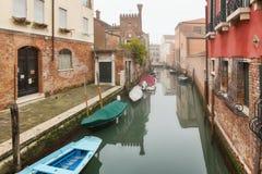 ημέρα ομιχλώδης Βενετία Στοκ φωτογραφία με δικαίωμα ελεύθερης χρήσης