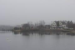 ημέρα ομιχλώδης Στοκ φωτογραφία με δικαίωμα ελεύθερης χρήσης