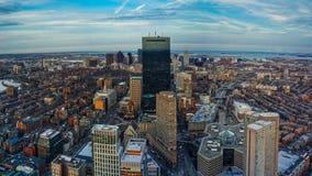 Ημέρα οριζόντων της Βοστώνης Στοκ εικόνα με δικαίωμα ελεύθερης χρήσης