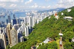 Ημέρα οριζόντων Χονγκ Κονγκ Στοκ Φωτογραφίες