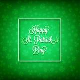 ημέρα ο ευτυχής Πάτρικ s ST Στοκ Εικόνες