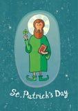 ημέρα Πάτρικ s ST Στοκ Εικόνα