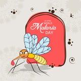 Ημέρα παγκόσμιας ελονοσίας Στοκ φωτογραφία με δικαίωμα ελεύθερης χρήσης
