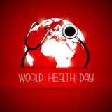 Ημέρα παγκόσμιας υγείας Στοκ φωτογραφίες με δικαίωμα ελεύθερης χρήσης