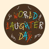 Ημέρα παγκόσμιου γέλιου Στοκ εικόνες με δικαίωμα ελεύθερης χρήσης
