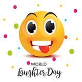 Ημέρα παγκόσμιου γέλιου Στοκ φωτογραφία με δικαίωμα ελεύθερης χρήσης