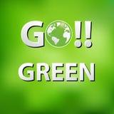 Ημέρα παγκόσμιου περιβάλλοντος διανυσματική απεικόνιση