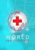 Ημέρα παγκόσμιων Ερυθρών Σταυρών Στοκ Φωτογραφίες
