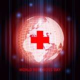 Ημέρα παγκόσμιων Ερυθρών Σταυρών στοκ εικόνες με δικαίωμα ελεύθερης χρήσης
